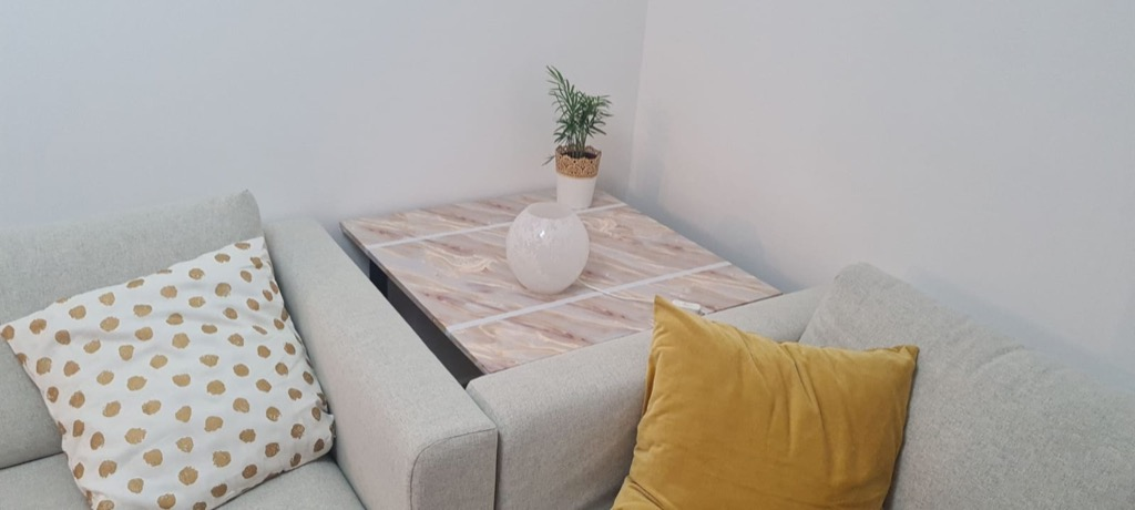 tall side table ikea hack