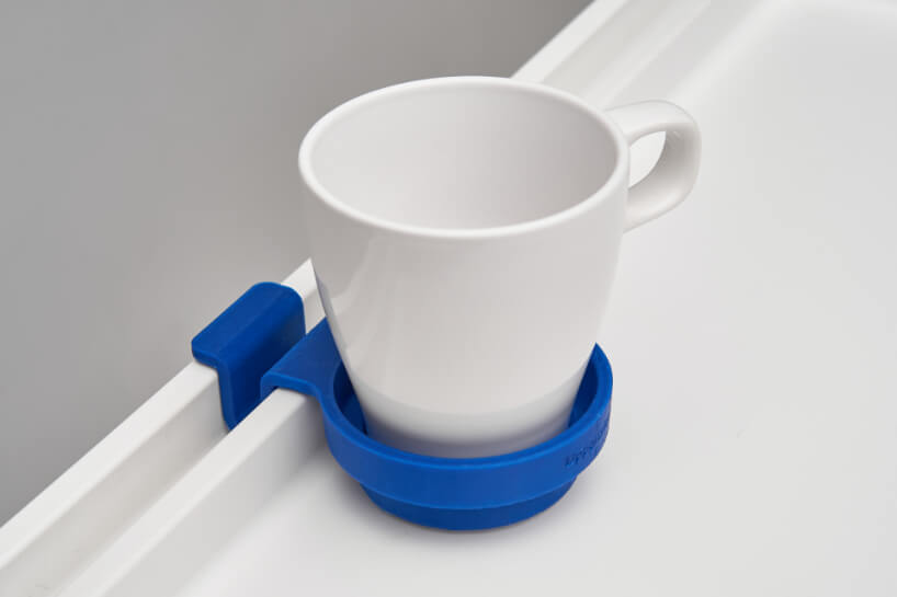 KLIPSK bed tray 3d printed mug holder add ons