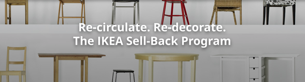 IKEA to 'Buy Back' used furniture, up to half price