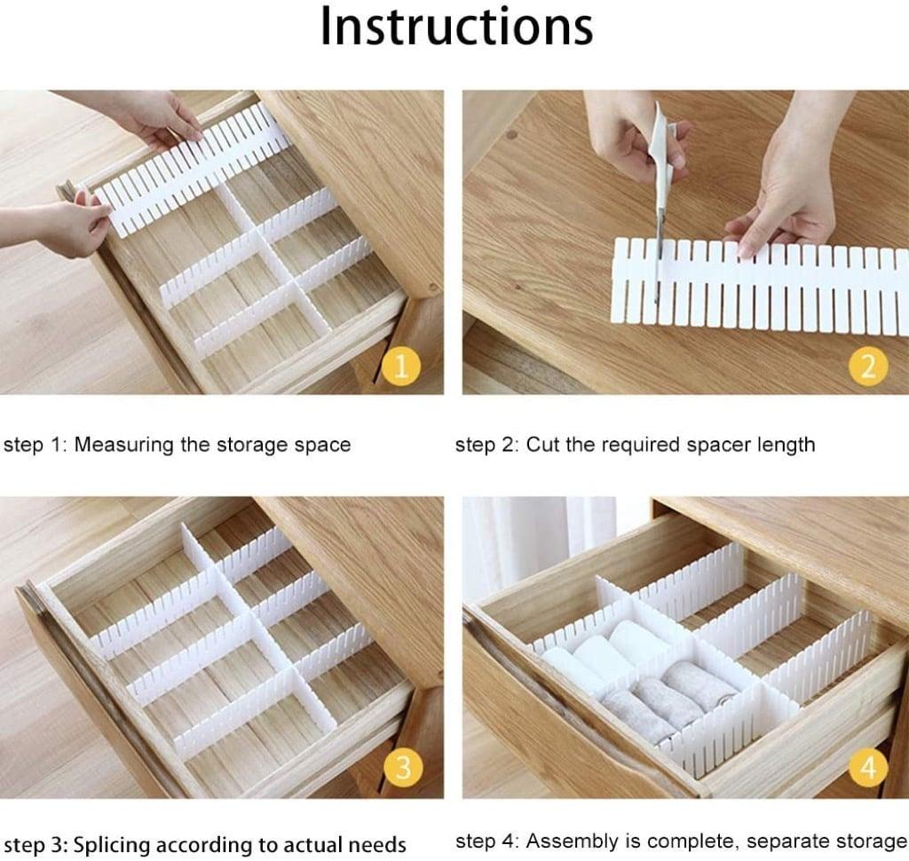 drawer spacers