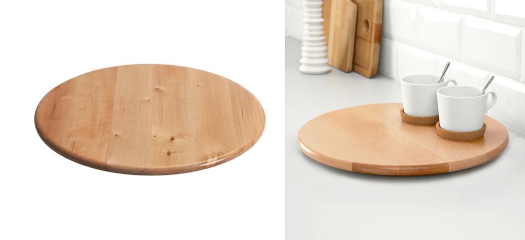 IKEA SNUDDA lazy susan kitchen turntable