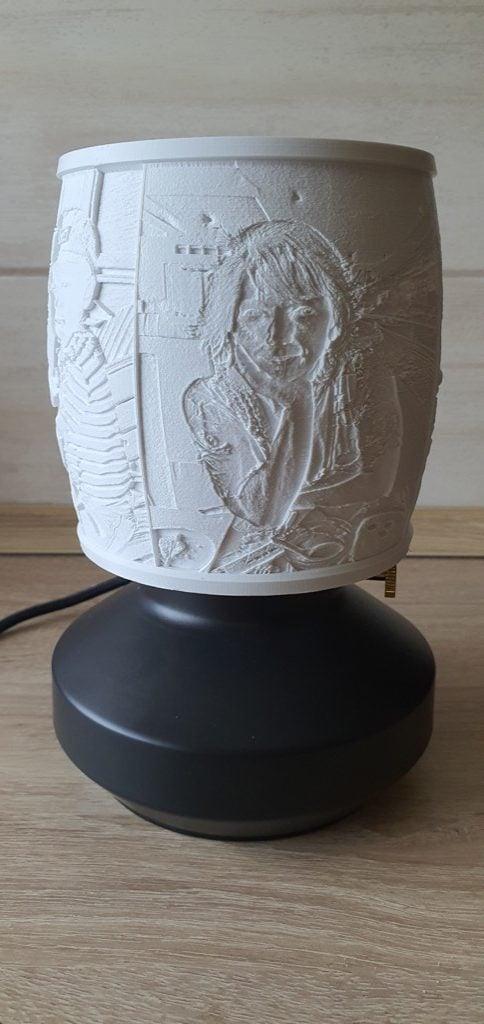 lithophane lamp hack