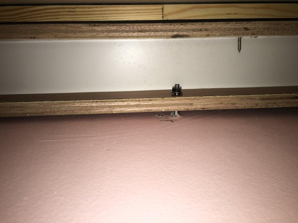 wooden c bracket