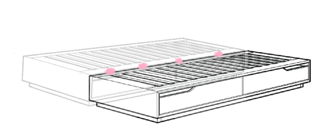 king size mandal bed