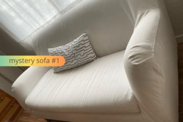 mystery ikea sofa
