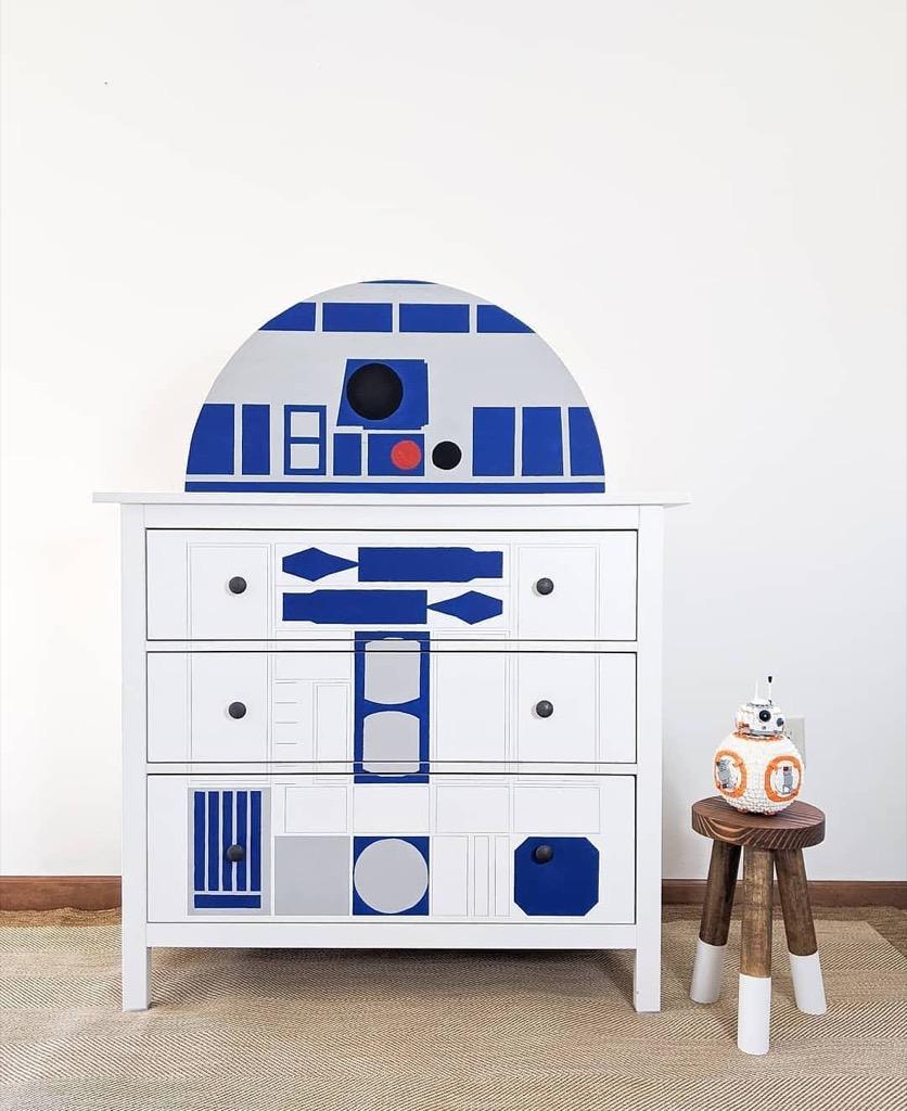 R2-D2 dresser IKEA hack
