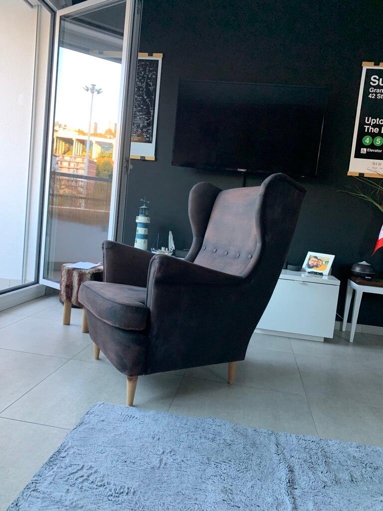 paint IKEA armchair
