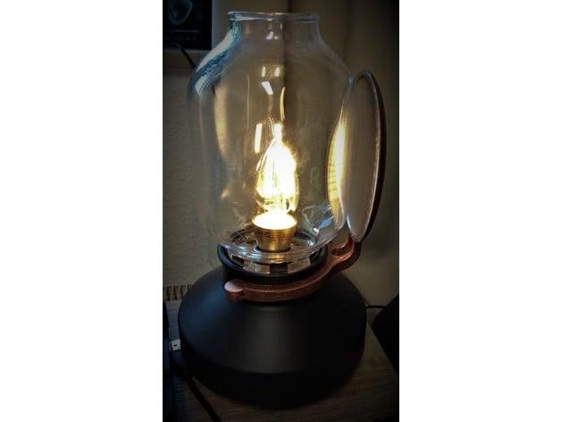 TÄRNABY lamp with reflector