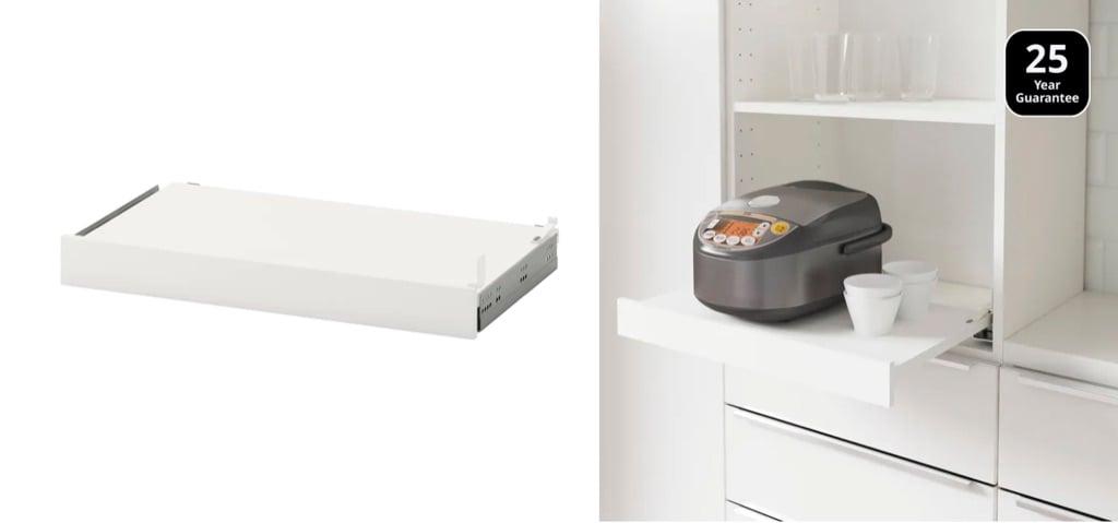 IKEA Utrusta pull out shelf