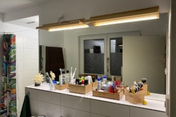 diy mirror lights