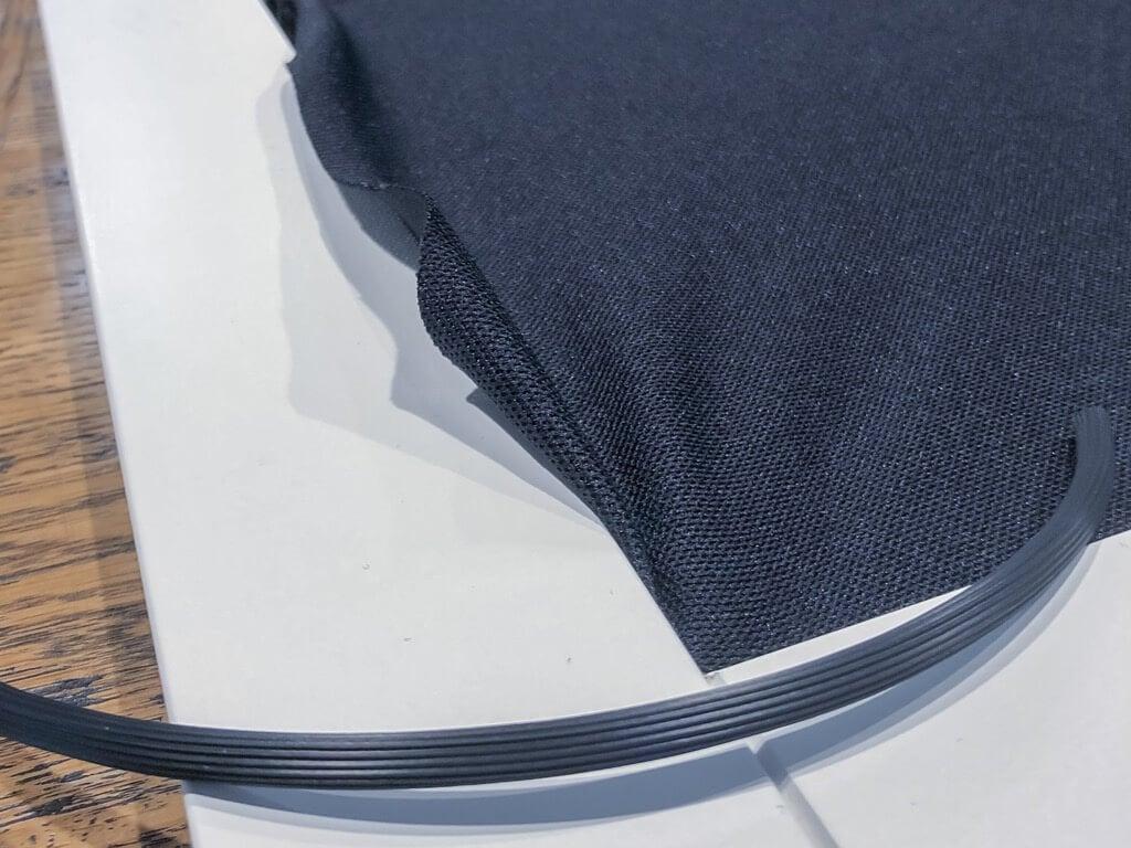 HANVIKEN doors with speaker fabric