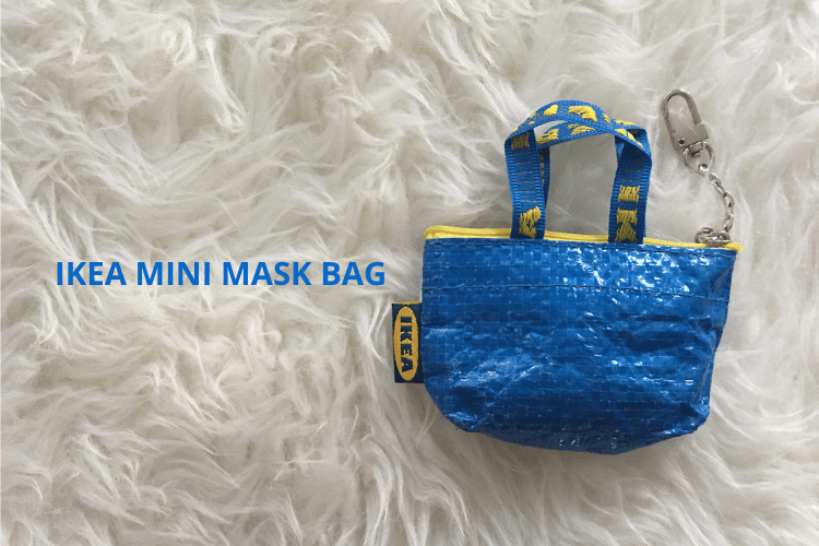 ikea mini mask bag