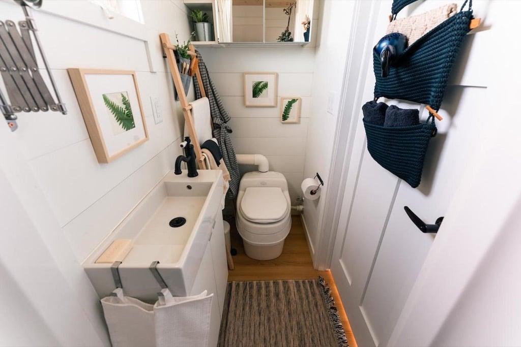 IKEA Tiny Home - bathroom