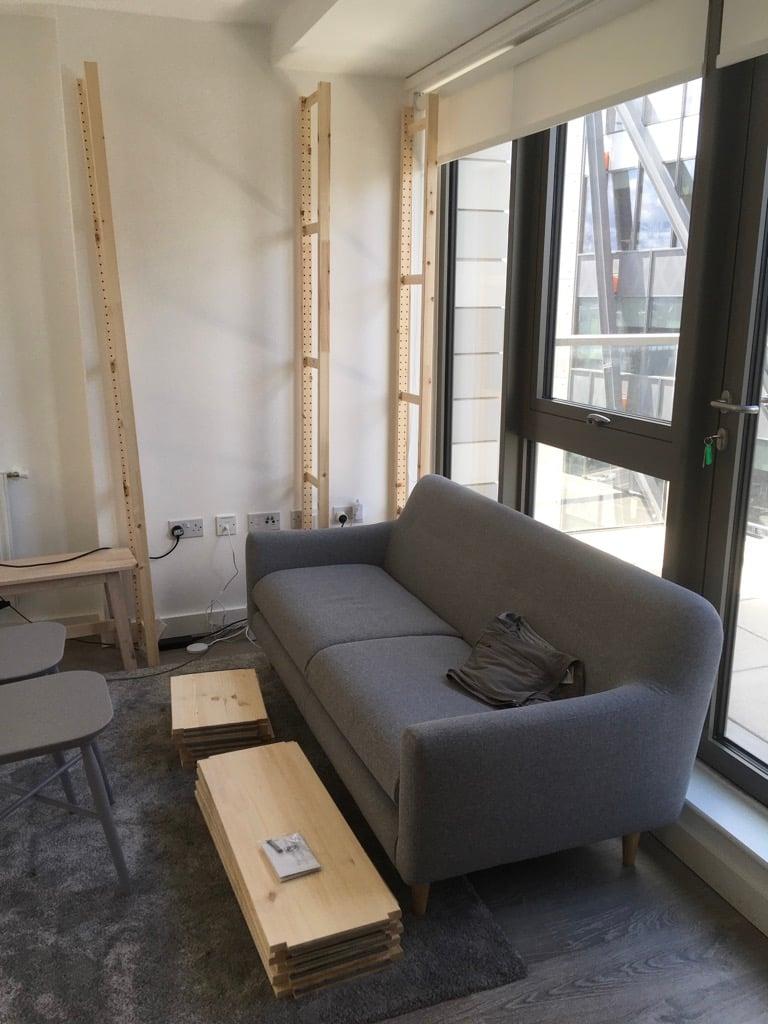 ivar unit in living room