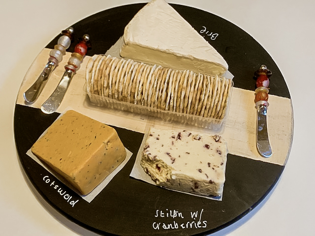 chalkboard cheese board