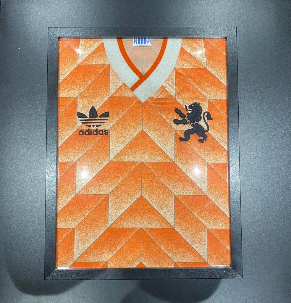 IKEA football jersey display frame