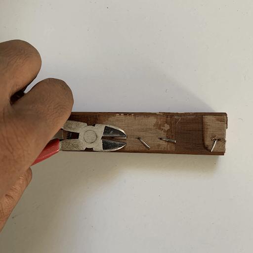 removing nails