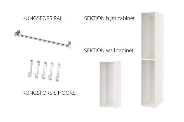 materials for utility cabinet
