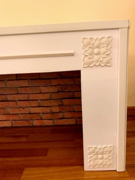 candle fireplace IKEA hack