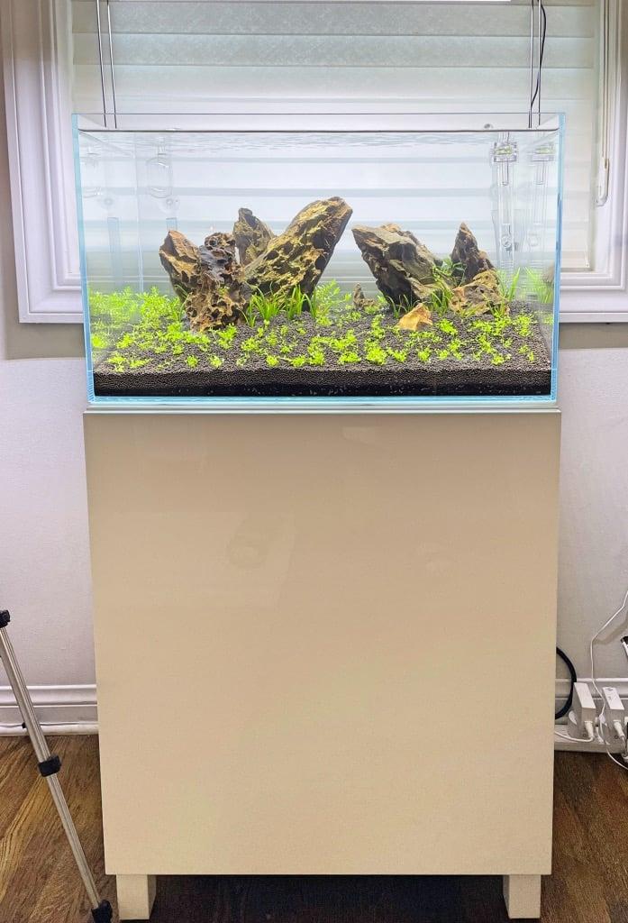 IKEA BESTA aquarium stand