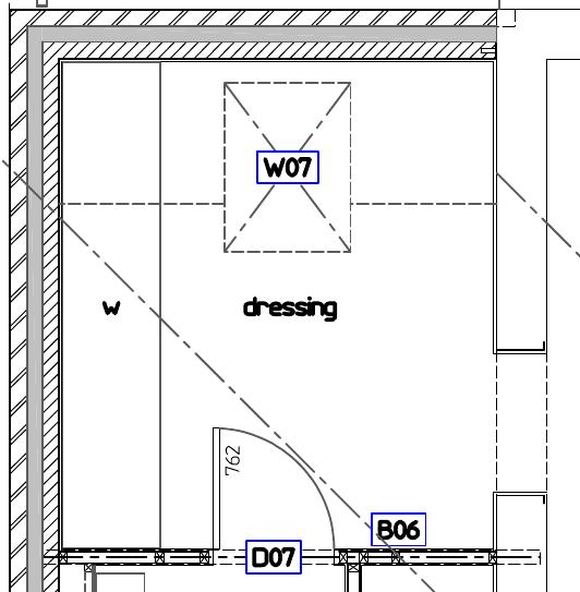 dressing room wardrobe plan