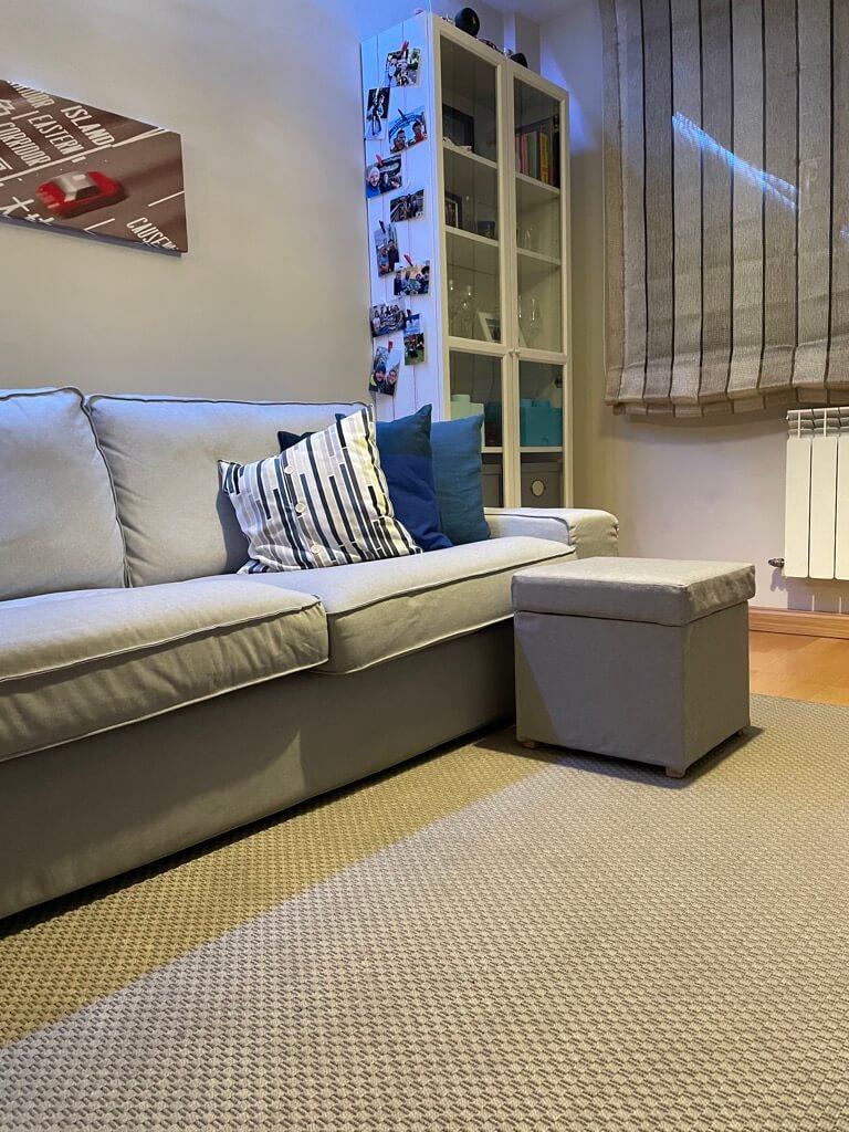 footstool with storage SOLSTA PÄLLBO