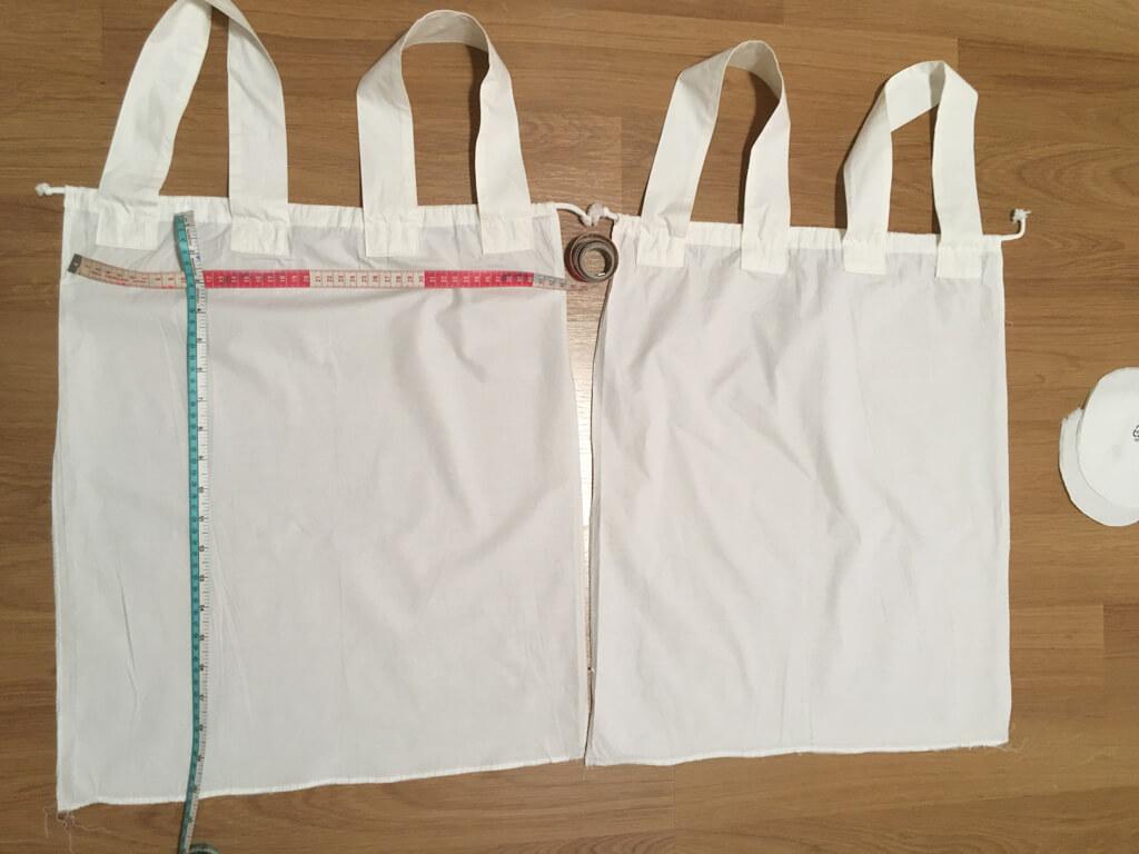 reusable shopping bag DIY