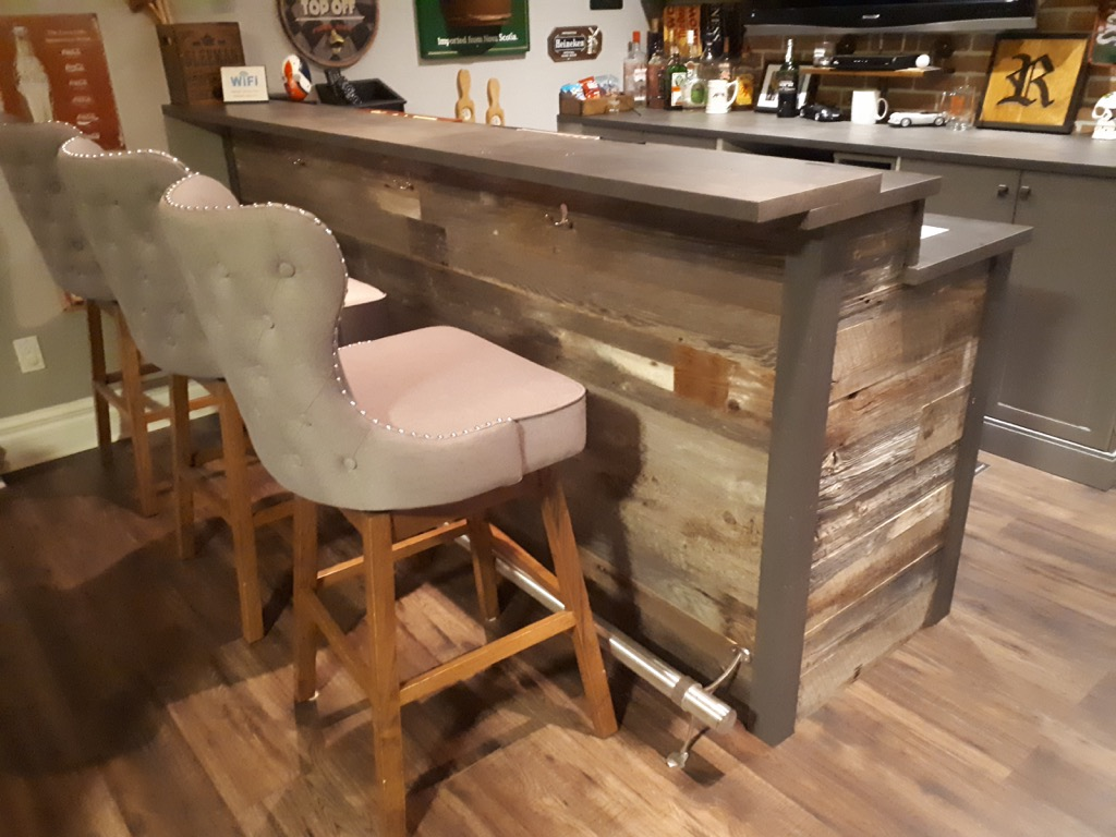 rustic bar hack