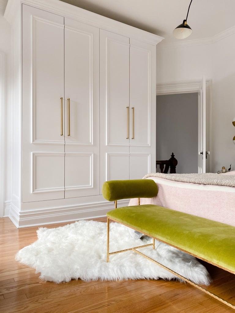 IKEA PAX doors ideas - trim