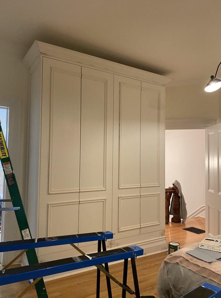 Victorian home closet IKEA PAX hack