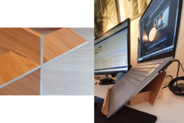 ikea laptop stand