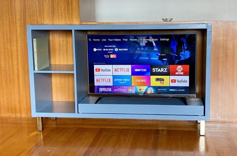 blue kallax tv stand