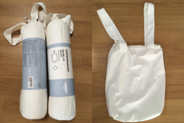 reusable shopping bag DIY