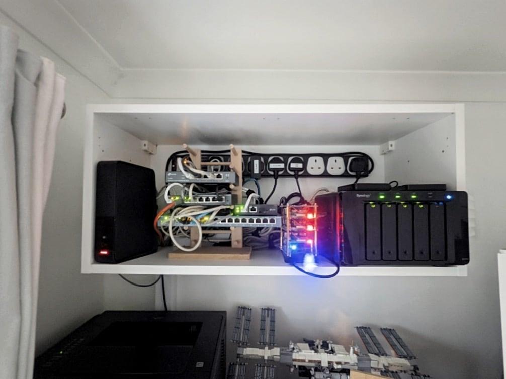 diy network rack