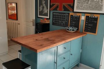 hemnes kitchen peninsula