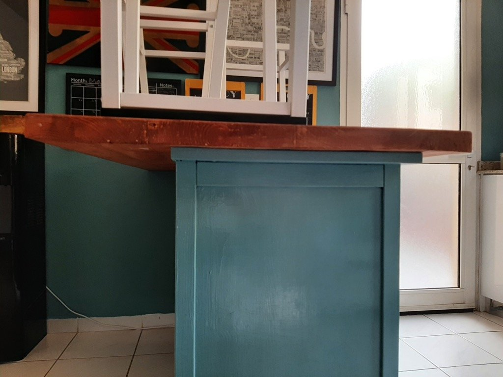 kitchen peninsula diy