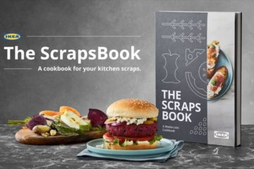 ikea scrapsbook food scraps cookbook