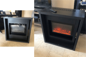 kallax electric fireplace furniture
