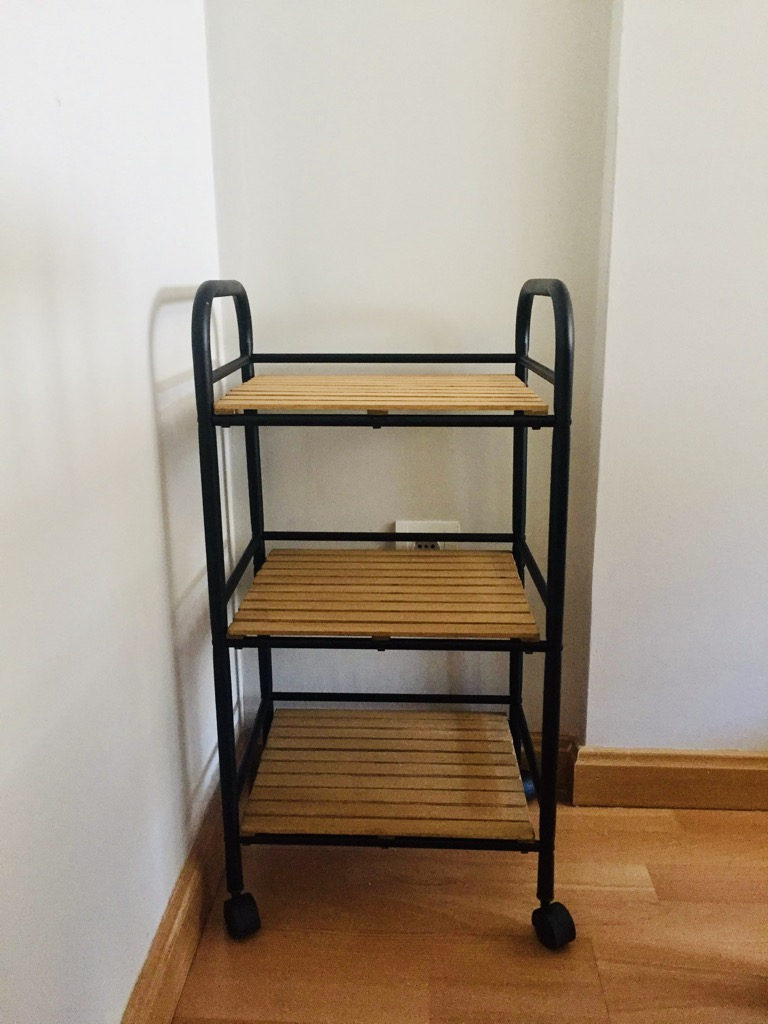 IKEA Draggan cart industrial style