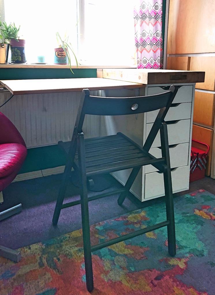 drop leaf kitchen cart ikea alex hack