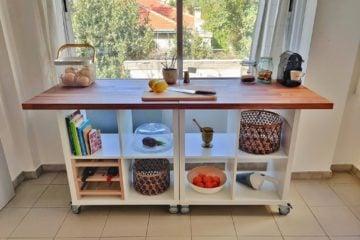 detachable portable kitchen island