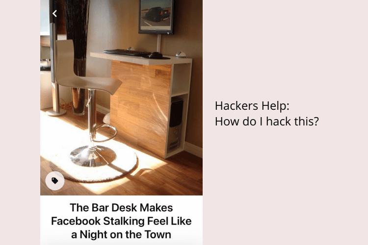 bar desk how to hack