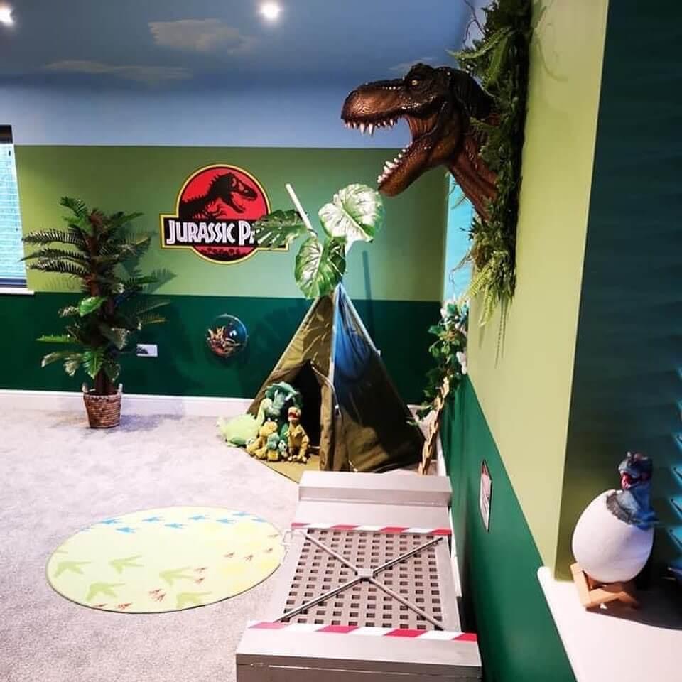 Prehistoric theme room