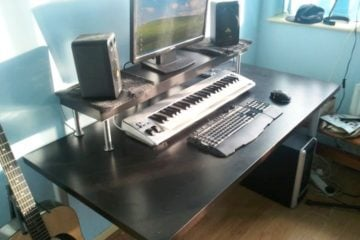 home studio desk