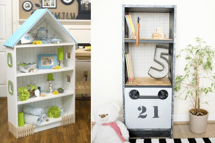 ikea billy bookcase toy storage