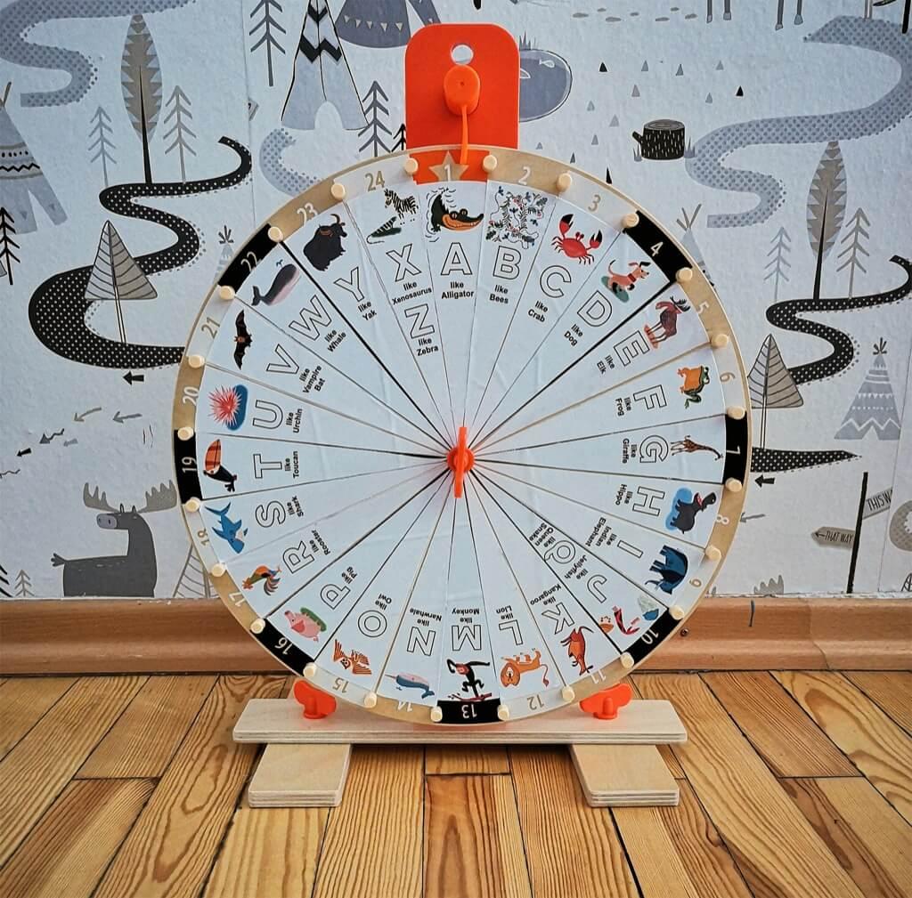 IKEA ABC spinning wheel