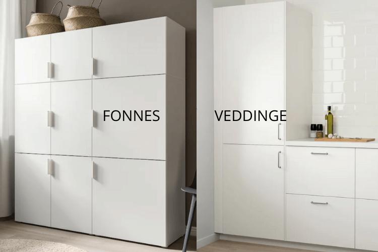 fonnes vs veddinge doors