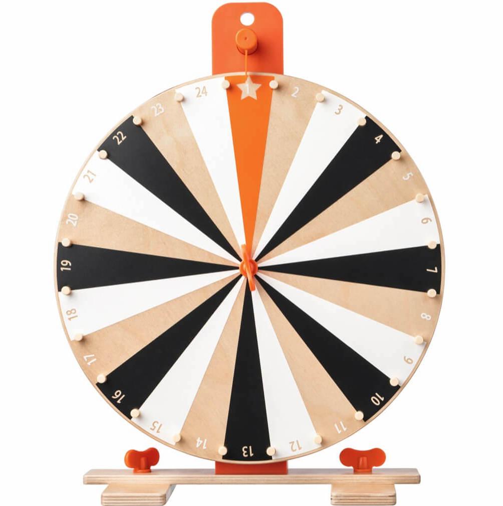 Have fun teaching ABC: IKEA Spinning Wheel hack