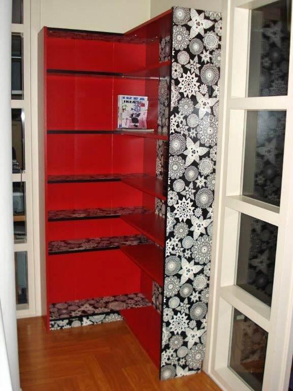 corner billy bookcases