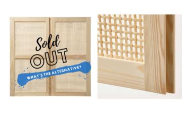 ikea ivar bamboo doors alternatives